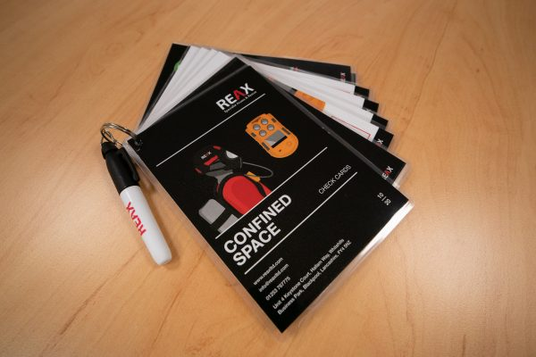 confined space check cards