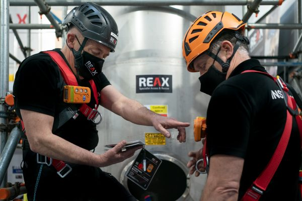 reax confined space check cards