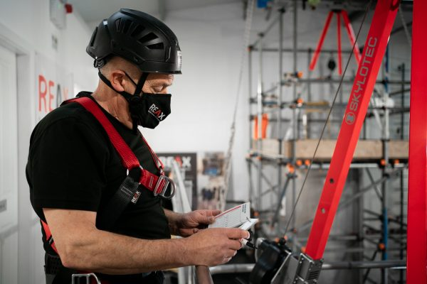 Confined Space Check Cards - REAX