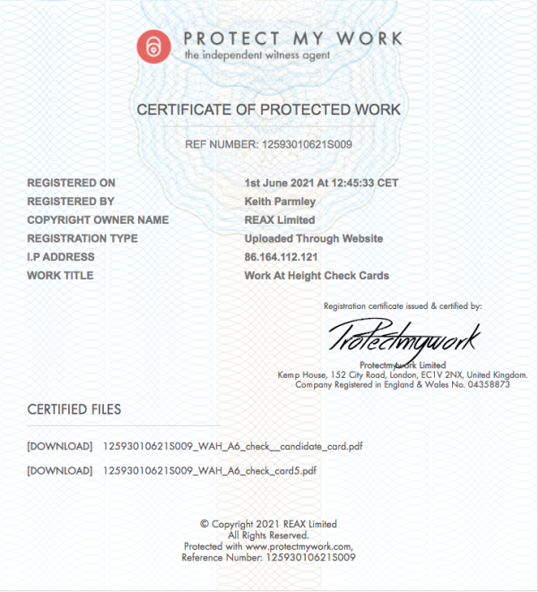 protect my work